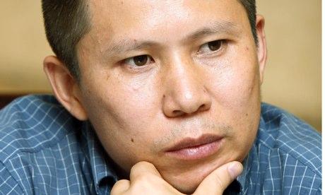 Xu Zhiyong; Photo provided by Greg Baker/AP